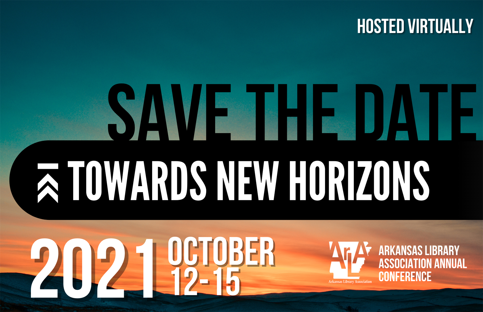 Save The Date: Towards New Horizons 2021 Conference Logo